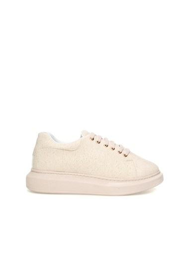 Divarese 5023111 Kadın Sneaker Pudra
